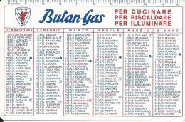 CAL230 - CALENDARIETTO 1967 - BUTAN GAS - Calendari