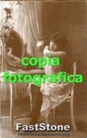 Riproduzione FOTO GALANTE DI GIOVANE DONNA (Glamour Erotico Ottocentesco) - PERFETTA - Reproductions