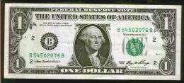 BANCONOTA ONE DOLLAR - WASHINGTON - SERIES 2006 - Billetes De La Reserva Federal (1928-...)