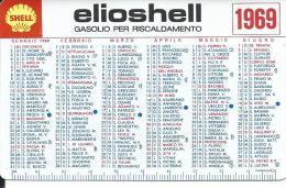 CAL234 - CALENDARIETTO 1969 - ELIOSHEL - Calendari