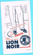 BUVARD BUVARDS Algerie Algeria France Publicité Pub Cirage Creme Polishing Cream Lion Noir Chaussures Shoes - Zapatos