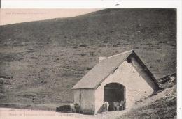 COL DE PORT  (1219 M)  1077 ROUTE DE TARASCON A ST GIRONS . LE REFUGE . LES PYRENEES ARIEGEOISES - Francia