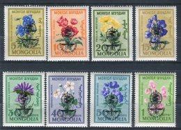 Mongolia 1962. Yvert 259-66 ** MNH.. - Mongolia