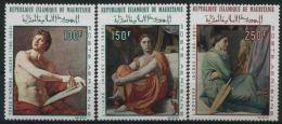 1968 Mauritania, Quadro Dominique Ingres ,serie Completa Nuova (**) - Mauritania (1960-...)