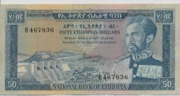ETHIOPIA P. 28a 50 D 1966 VF - Ethiopie