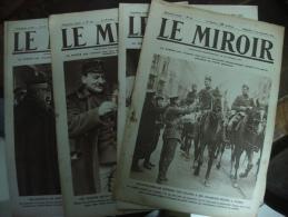 LE MIROIR  (Publication Hébdomadaire)1914/ 1915 - 1914-18