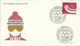 ALEMANIA BONN SPD JUEGOS OLIMPICOS INVIERNO 1976 - Invierno 1976: Innsbruck