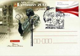 Poland Pologne, Astronomy N. COPERNICUS. Ancient Mythology: Goddess Nike - Award For Polish Philatelists. Torun 2013. - Astronomùia