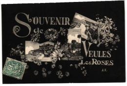 DEP 76 Seine Maritime  3CP  Veules Des Roses        St Valery En Caux       Neufchatel En Bray - France