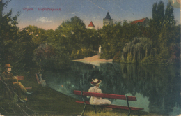 WWI (Erster Weltkrieg) - Polska (Poland [EN], Polen [DE]) - Poznan (Posen [DE]) - Schillerpark (1917) - Posen