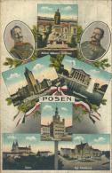WWI (Erster Weltkrieg) - Polska (Poland [EN], Polen [DE]) - Poznan (Posen [DE]) - Various City Views (1917) - Posen
