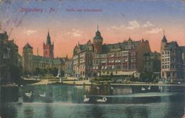 Erster Weltkrieg (WWI)  - Rußland (Russia) - Königsberg, Preußen (Kaliningrad) - Partie Am Schloßteich (1916) - Ostpreussen