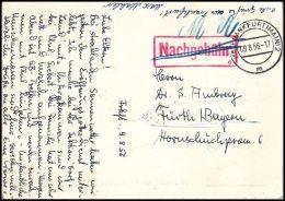 "Germany BRD 1956, FDC Card ""German Protestant Kirchentag"", Frankfurt To Furth - Storia Postale"