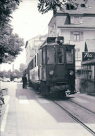 Chemin De Fer Nyon-St Cergue-Morez, Train à Nyon Gare, Photo 1967 BVA, NStCM 69.4 - Trains