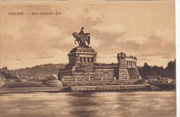 Germany Koblenz Das Deutsche Eck