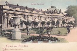 Germany Gruss Aus Potsdam Schloss Sanssouci