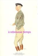 GÉNÉRAUX En 1944-1945-aquarelle De SISS-n°2-général SCHLESSER-5e Division Blindée-1ère Armée Française - History