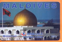 Maldives - GPT, Mosque, 164MLDC, 2/00, Used - Maldivas