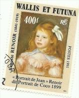 411   AUGUSTE  RENOIR     (647) - Used Stamps