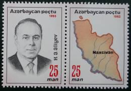 PRESIDENT ALEIEV 1993 - NEUF ** YT 110/111 - MI 105/06 - Azerbaiján