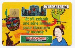 Télécarte 50 Unités N° F226 France 01/92 - Hollywood Chewing Gum, SO2, A+6 N° - 1992