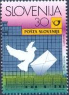 SI 1997-214 POST IN LJUBLJANA, SLOVENIA, 1v, MNH - Filatelia & Monete