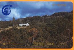 St Helena Isl. - GPT. Gouvernment House, CN :1CSHD, 3,600ex, 1989, Used - St. Helena Island