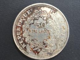 1977 - 50 Francs Argent Hercule - M. 50 Franchi