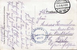 1916 - Militärstempel Auf Ak HAJASD, Karpathen - Böhmen Und Mähren