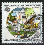 COTE D'VOIRE:  N°666B Oblitéré      - Cote 7,25€ -