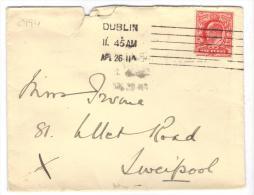 VER2994 - GRAN BRETAGNA , Da Dublin AP 26 11 - Storia Postale