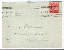 VER2995 - GRAN BRETAGNA , Da Southkensington So 28 AP 11 - Storia Postale