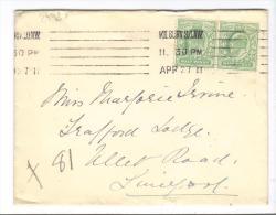 VER2998 - GRAN BRETAGNA , Da Kilburn S.O.N.W.  AP 27 11 - Storia Postale