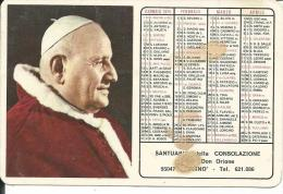 CAL163 - CALENDARIETTO 1975 - SANTUARIO DELLA CONSOLAZIONE - PATERNO´ - Calendari