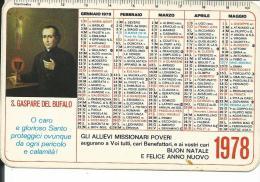 CAL171 - CALENDARIETTO 1978 - PRIMAVERA MISSIONARIA - ALBANO LAZIALE - ROMA - Calendari