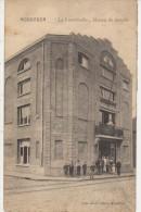 CPA BELGIQUE MOUSCRON MOESKROEN Maison Du Peuple La Fraternelle Animation 1914 - Mouscron - Möskrön