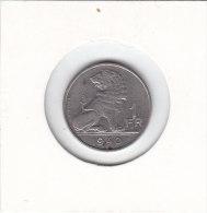 1 FRANC Cupro-nickel Léopold III 1940 FL/FR - 1934-1945: Leopold III