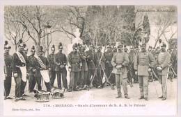 MONACO . Garde D'honneur De S.A.S. Le Prince . - La Condamine