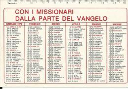 CAL177 - CALENDARIETTO 1979 - PONTIFICIE OPERE MISSIONARIE - Calendari