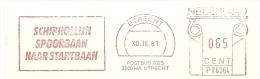 NL Nice Cut Meter SCHIPHOLLIJN SPOORBAAN NAAR STARTBAAN Utrecht 30-9-1981 - Treinen