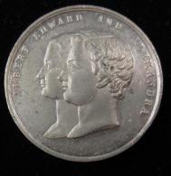 M00537 (538 Compris) Wedding Albert Edward And Alexandra 1863. 22 G Et Visite Louis Philippe à Victoria (1844). 20 G - Royaux/De Noblesse