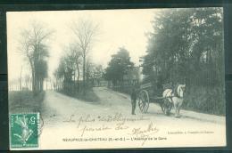 78 NEAUPHLE LE CHATEAU  L'avenue De La Gare   - Abk162 - Neauphle Le Chateau
