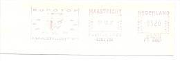 Netherlands Nice Cut Meter EUROTOP MAASTRICHT 17-10-1991 - Europese Instellingen