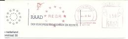 Netherlands Nice Cut Meter REGR Raad Der Europese Gemeenten En Regio's Maastricht 23-11-1992 - Europese Instellingen