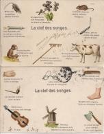 CPA La Clef Des Songe, Reve - Contes, Fables & Légendes