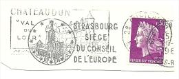 France Nice Cut Meter STRASBOURG SIEGE DU CONSEIL DE L'EUROPE - Europese Instellingen