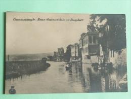 CONSTANTINOPLE - Eaux Douces D'ASIE Au Bosphore - Turquie