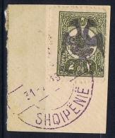 Albania:  1913 Michel Nr. Nr 3 Used SIGNED - Albanië