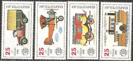 Bulgaria 1988 Nuovo** - Mi.3724/7  Yv.3221A/D - Bulgaria
