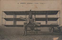 "Belle Epoque (1900s) > Sports - Aviation - Triplan ""Goupy N° 1"" (1908) - ....-1914: Précurseurs"